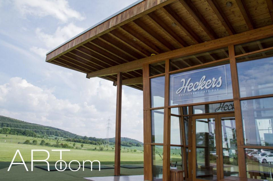 Ausstellung Restaurant Golfclub Heckers